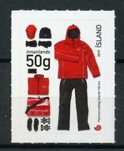 Iceland Postal Services Stamps 2019 MNH Icelandic Postal Workers Union 1v SA Set