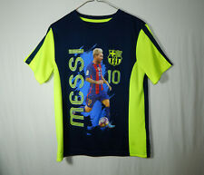 Lionel Messi FC Barcelona Official FCB Soccer Shirt Youth Large L Boys Clothing