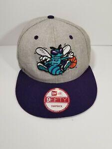 Charlotte Hornets (New Era 9Fifty) Snapback NBA Blue Hat