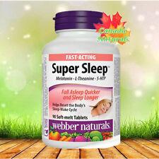 webber naturals Super Sleep 90 Soft melt tablets