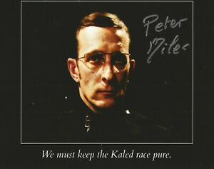 Peter Miles lovely hand signed photo with UACC lifetime COA