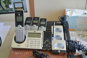ATT DECT 6.0 Four Handset Cordless Phone System Connect to Cell