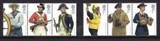2009 Royal Navy Uniforms Stamp Set Naval Mnh Sg2964-2969 Gb Unmounted Umm