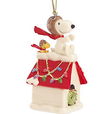 Lenox Peanuts  Snoopy The Flying Ace ornament 2017