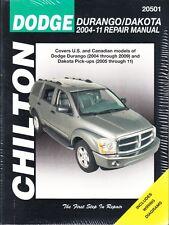2004-2011 Durango Dakota Chilton Repair Service Workshop Manual Book Guide 29880
