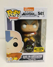 Funko Pop Avatar Aang Chase Glow In The Dark Hot Topic Exclusive Hard Protector