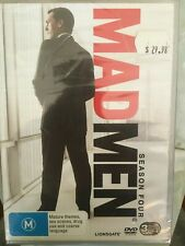 MAD MEN COMPLETE FOURTH SEASON 3 x DVD Series Four 4 NEW Region 4