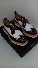 chaussures Derbies, Derby, Bikkembergs, cuir bordeaux T.40