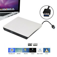 External USB 3.0 DVD ROM CD Writer Drive Burner Reader Player For Laptop PC UK