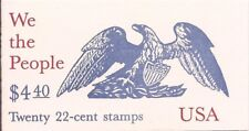 US Stamp - 1987 We the People - Booklet Pane of 20 Stamps #BK162