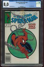 AMAZING SPIDER-MAN 301 JUNE 1988 CGC-GRADED 8.0 VERY FINE NEWSSTAND VAR Marvel