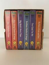 Sesame Street VHS set - Sesame Street's 25th Anniversary Gift Set - 6 Videos