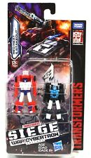 Transformers Red Heat & Stakeout Siege War for Cybertron Micromaster 2018 MOC