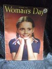 Woman's Day Magazine October 1943