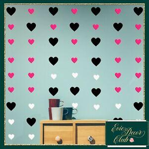 White Heart Wall Stickers Decals Child Vinyl Art Decor wedding crafts card seal