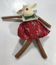 Cow Christmas Tree Holiday Ornament Decoration Home Decor Xmas Display