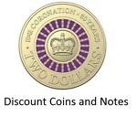 Discount Coins and Notes