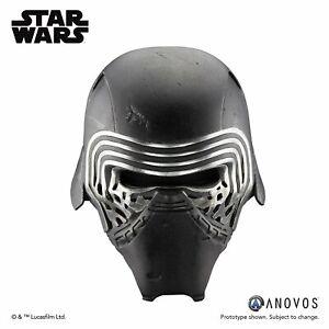 Anovos Star Wars The Force Awakens Kylo Ren Premier Line Fiberglass Helmet NEW