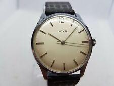 Vintage 1950's Gents OVERSIZED 35 MM Doxa Watch Swiss Made 17 Jewels Stunning