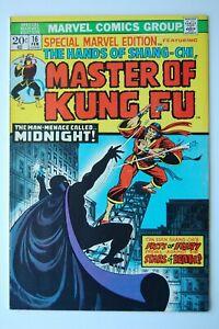 MASTER OF KUNG FU | SPECIAL MARVEL EDITION | SHANG CHI