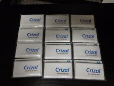 12 Crizal Cleaning Cloths.  Essilor  New
