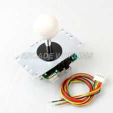Genuine Original Sanwa TP-JLF-8YT 8 ways Joystick For Arcade kits Control White