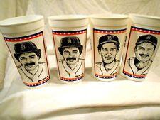 4-1984 Detroit Tigers Cups-Hernandez/Parrish/Tr ammel-Sunshine Food Stores
