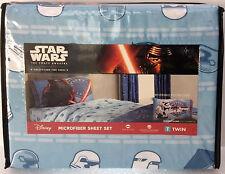 Star Wars Force Awakens Twin Sheet Set pillowcase bedding sheets New tfa