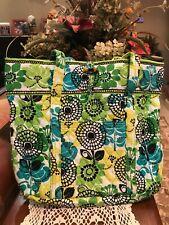 Vera Bradley Classic vera Limes UpTraveler  Bag **retired**