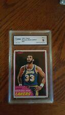 1981 - 1982 Topps Kareem Abdul-Jabbar Los Angeles Lakers #20 Basketball Card
