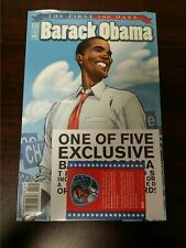2009 IDW COMICS BARACK OBAMA THE FIRST 100 DAYS #2 SEALED VF/NM FLAT RATE S/H