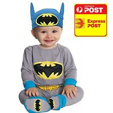 BATMAN BABY COSTUME NEWBORN