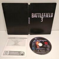 "Battlefield 3 Steelbook ""G1"" Bon état + Jeu PS3 - Region Free - En bon état"