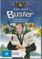 BUSTER - PHIL COLLINS & JULIE WALTERS - NEW & SEALED DVD - FREE LOCAL POST