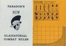 Paragon Gladiatorial Combat Rules