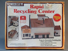 LIFE LIKE N SCALE RAPID RECYCLING CENTER KIT n gauge train building 7473