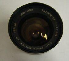 1pc. Fuji 1:1.4/12.5 Photo Optical Lens Fujinon-Tv, Used
