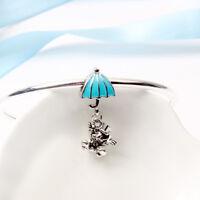 New Pandora ALE S925 Silver Jiminy Cricket Pinocchio Charm Bead + Pandora pouch