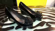 Lindsay Phillips Wedge Heels Shoes Womens Size 9.5 Good Condition