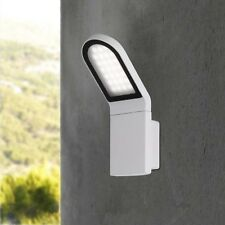 WOFI lámpara exterior NEWARK Gris de pared LED máx. 9,5 vatios