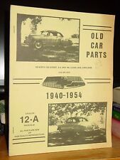 Old Car Parts 1940-1954 Chevrolet Catalog, Clear Lake, Iowa
