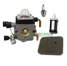US Carburetor for STIHL Carb FS38 FS45 FS46 FS55 FC55 Air Fuel Filter Repair Kit