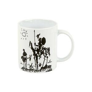 Pablo Picasso Becher Könitz Porzellan 0,3L Tasse  300ml  Don Quichotte