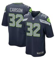 Chris Carson #32 Nike Seattle Seahawks Home Jersey New Size 2xl Navy 468967-469