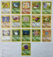 Pokemon Jungle Card Lot - Uncommon/Common - 16 Cards - /64