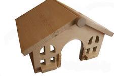 Betten, Hängematten & Nester aus Holz für Kaninchen