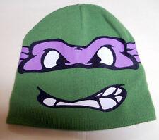 NEW Nickelodeon TMNT Teenage Mutant Ninja Turtle DONATELLO Beanie HAT REVERSIBLE