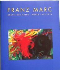 Katalog Franz Marc Werke 1912-1915 Gemälde Tiere Bilder Verzeichnis der Werke