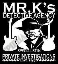 DIRE STRAITS Inspirado MARK KNOPFLER Sudadera privado Investigations Homenaje