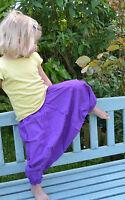 Childrens HAREM TROUSERS HIPPY BOHO ALADIN ALIBABA GENIE Baggy Pants YOGA Cotton